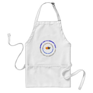 Every Day a Library Day Adult Apron