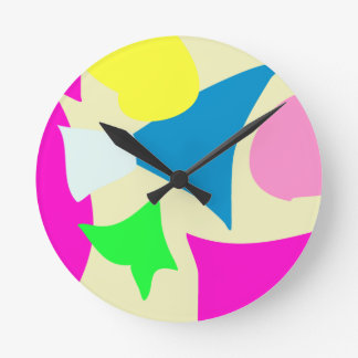 Every Day Beige Wall Clock