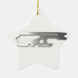Every Day Carry Ceramic Ornament