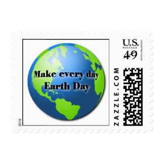 Every Day Earth Day postage