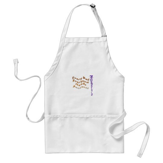 Every day Everyone needs Accounts Adult Apron