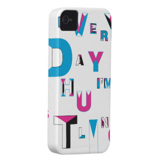 every day i'm hustlin iPhone 4 cover