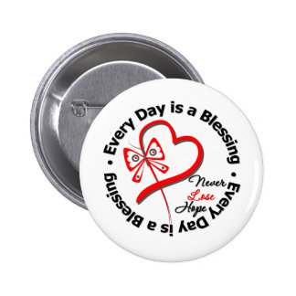 Every Day is a Blessing - Hope Blood Cancer Pin