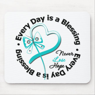 Every Day is a Blessing - Hope Cervical Cancer Mouse Pads