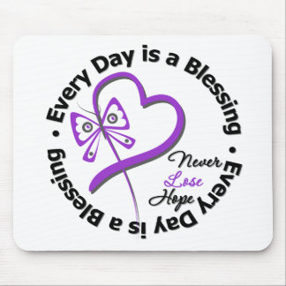 Every Day is a Blessing - Hope Leiomyosarcoma Mouse Pad