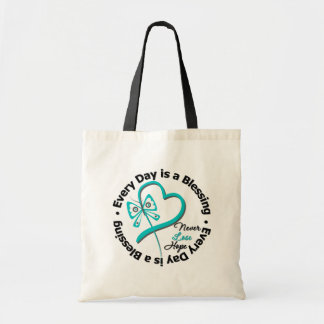 Every Day is a Blessing - Hope Ovarian Cancer Tote Bag