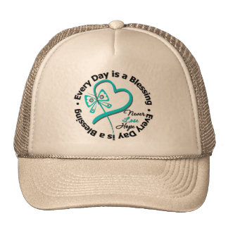 Every Day is a Blessing - Hope Ovarian Cancer Trucker Hat