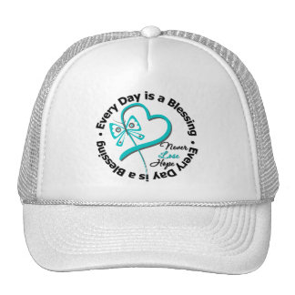 Every Day is a Blessing - Hope Ovarian Cancer Mesh Hat