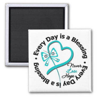 Every Day is a Blessing - Hope Ovarian Cancer Magnet