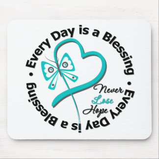 Every Day is a Blessing - Hope Ovarian Cancer Mouse Pads