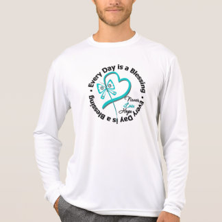 Every Day is a Blessing - Hope Ovarian Cancer Shirts