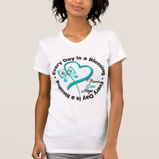 Every Day is a Blessing - Hope Ovarian Cancer T-shirts