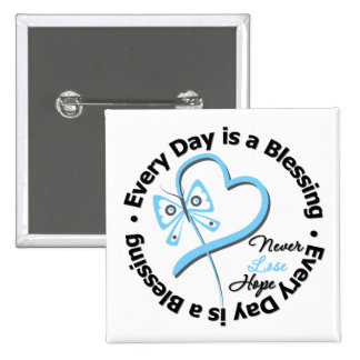 Every Day is a Blessing - Hope Prostate Cancer 2 Inch Square Button