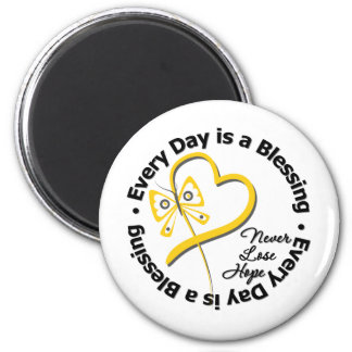 Every Day is a Blessing - Hope Sarcoma 2 Inch Round Magnet