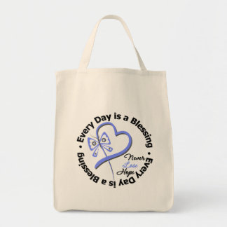 Every Day is a Blessing - Hope Stomach Cancer Tote Bags