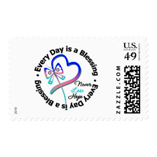 Every Day is a Blessing - Hope Thyroid Cancer Postage