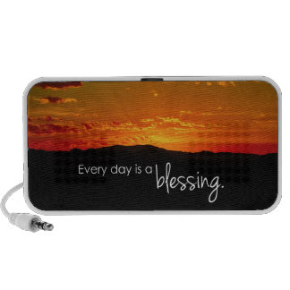 Every Day is a Blessing Portable Speakers