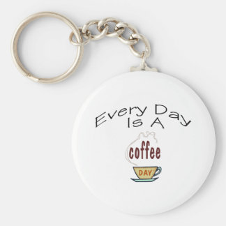 Every Day Is A Coffee Day Keychain