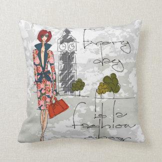 Should I Throw Away Old Pillows : Fashion Show Pillows - Decorative & Throw Pillows Zazzle