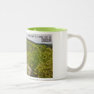 Every Day Is A Great Day To Hike Two-Tone Coffee Mug