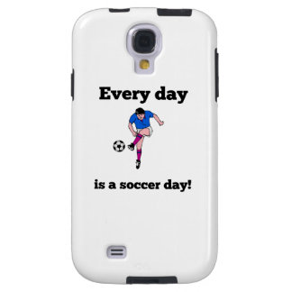 Every Day Is A Soccer Day Galaxy S4 Case