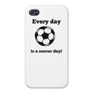 Every Day Is A Soccer Day Case For iPhone 4