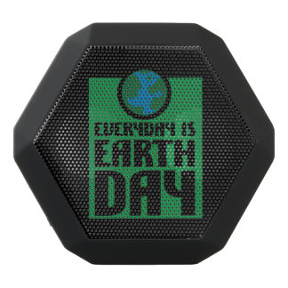 Every Day is Earth Day Black Bluetooth Speaker