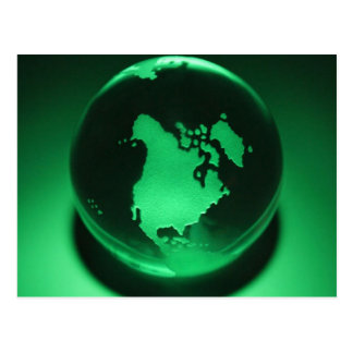 Every Day is Earth Day! Green Planet Design Postcard