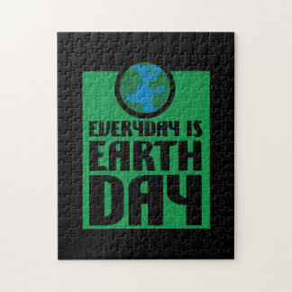 Every Day is Earth Day Jigsaw Puzzle