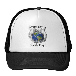 Every day is Earth Day Mesh Hat