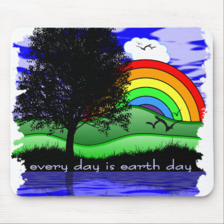 Every Day is Earth Day Mousepad