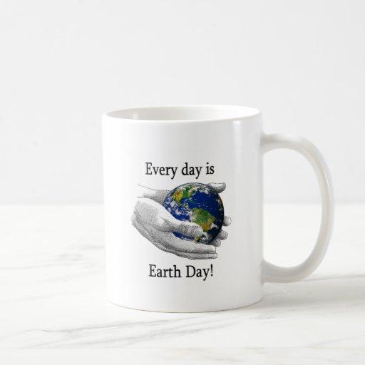 Every Day is Earth Day Coffee Mugs