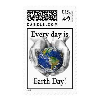 Every day is Earth Day Postage Stamp