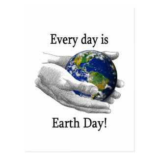 Every Day is Earth Day Postcard