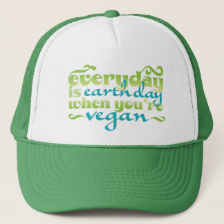 Every Day is Earth Day Vegan Trucker Hat