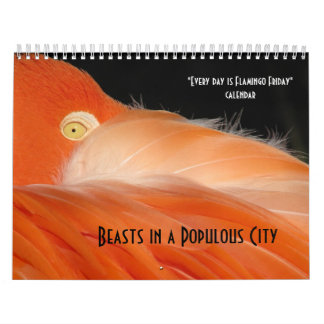 """Every day is Flamingo Friday"" calendar"