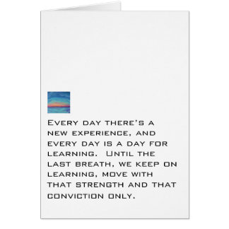 Every Day Is For Learning Cards