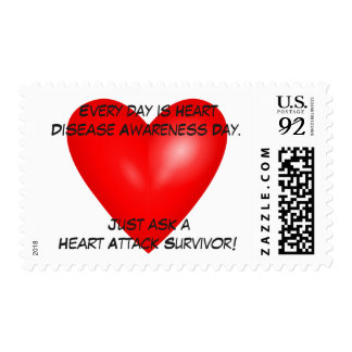Every day is Heart Disease Awareness Day Postage