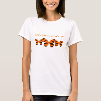 Every Day Is Mother's Day, Tiger Stripe Butterfly T-Shirt