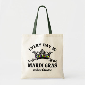 Every Day Mardi Gras in New Orleans Tote Bags