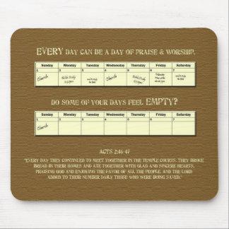 Every Day Praise & Worship - Calendar Mouse Pad