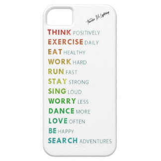 Every day words iPhone SE/5/5s case