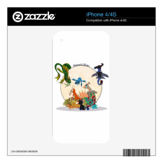 Every Dragon Ever Decal For iPhone 4