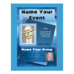 Every Event Flyer - Ocean Blue