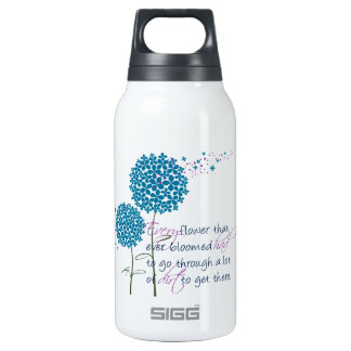Every flower that ever bloomed... insulated water bottle
