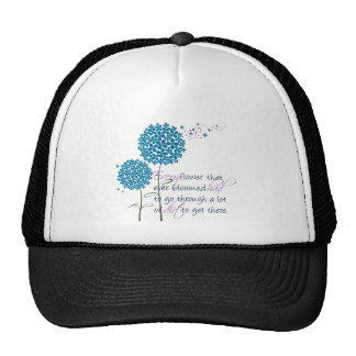 Every flower that ever bloomed... trucker hat