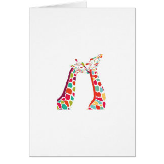 Every Giraffe product Greeting Card