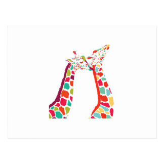 Every Giraffe product Postcard