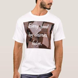 Every good boy deserves fudge shirt