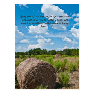 Every good gift and every perfect gift is from abo postcard